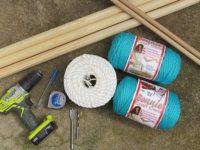 macrame hammock materials 200x150 Marvelous Macramé Crochet Hammock – Unwind in Style!