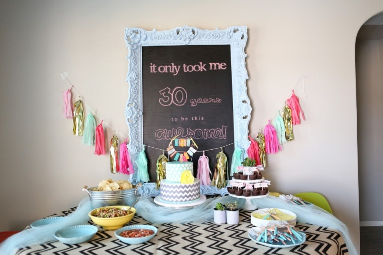 VIEW IN GALLERY 30 Years Of Awesome 7 Clever Themes For A Smashing 30th Birthday Party