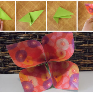 Turn Trash into Treasure With These Pretty Origami Flowers