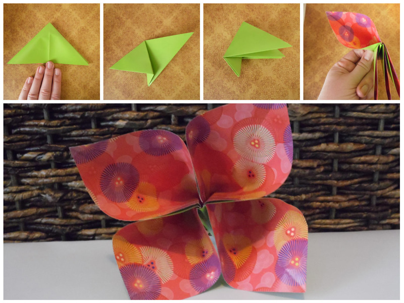 Craft your own pretty Origami Flower Turn Trash into Treasure With These Pretty Origami Flowers