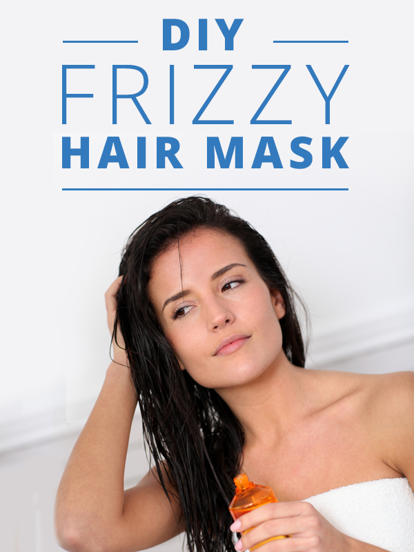 DIY Frizzy Hair Mask