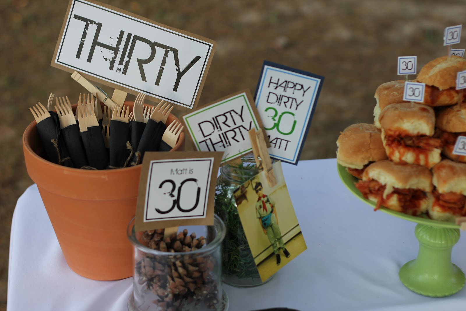 4 Dirty Thirty Camping Party