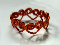 Heart Wrapped Ring 200x150 10 DIY Wire Rings You Can Wear To A New Years Eve Party