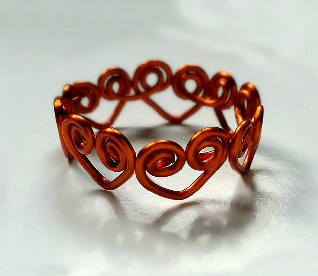 Heart Wrapped Ring