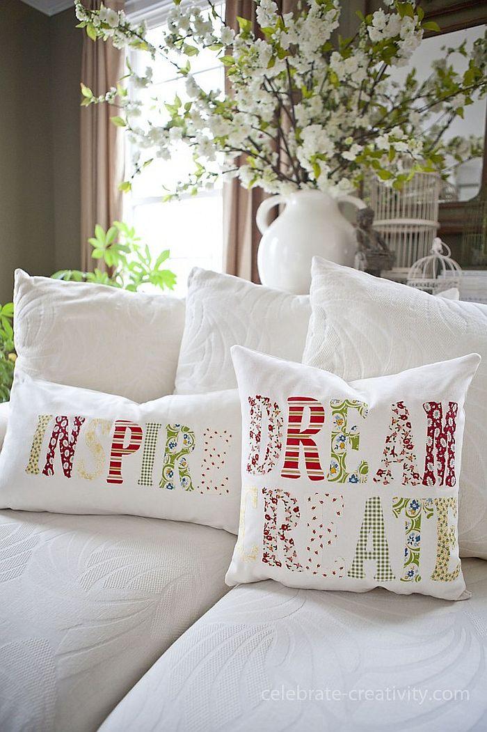 Inspiration Pillow DIY