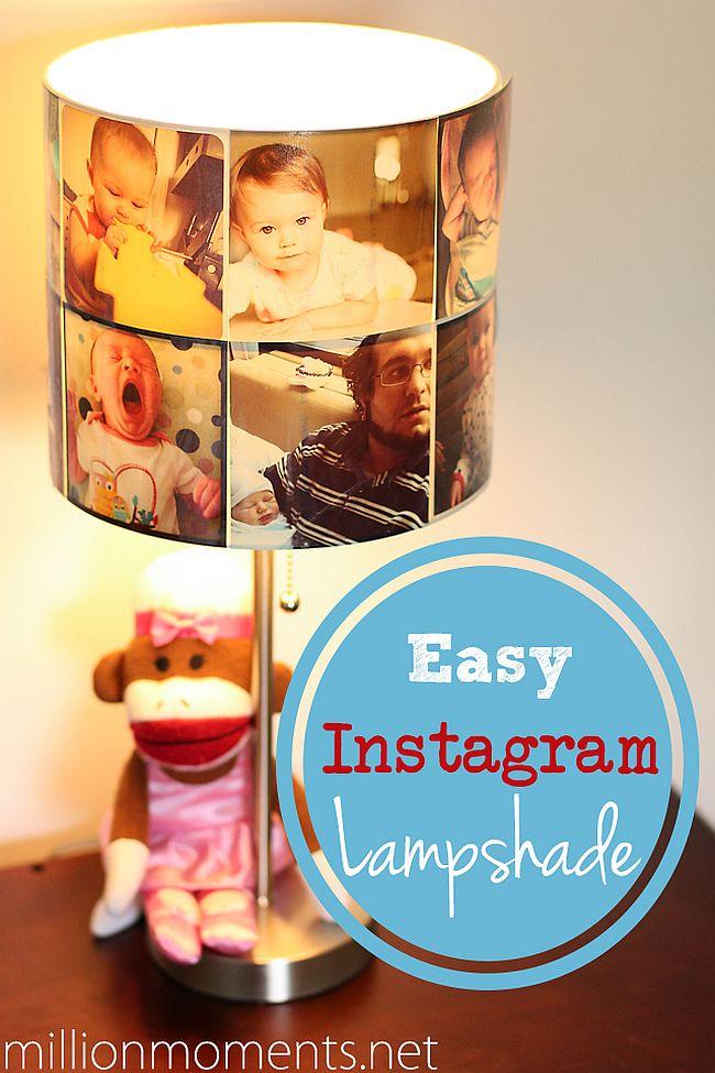 Instagram Photo Lamp Shade