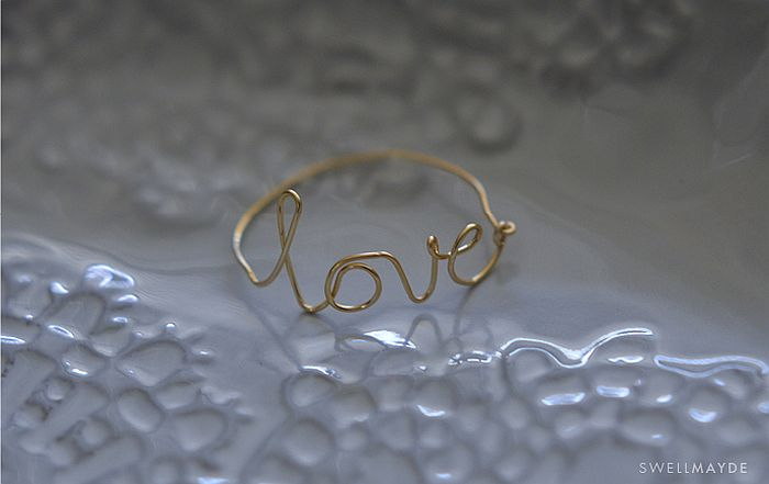 LOVE Ring DIY