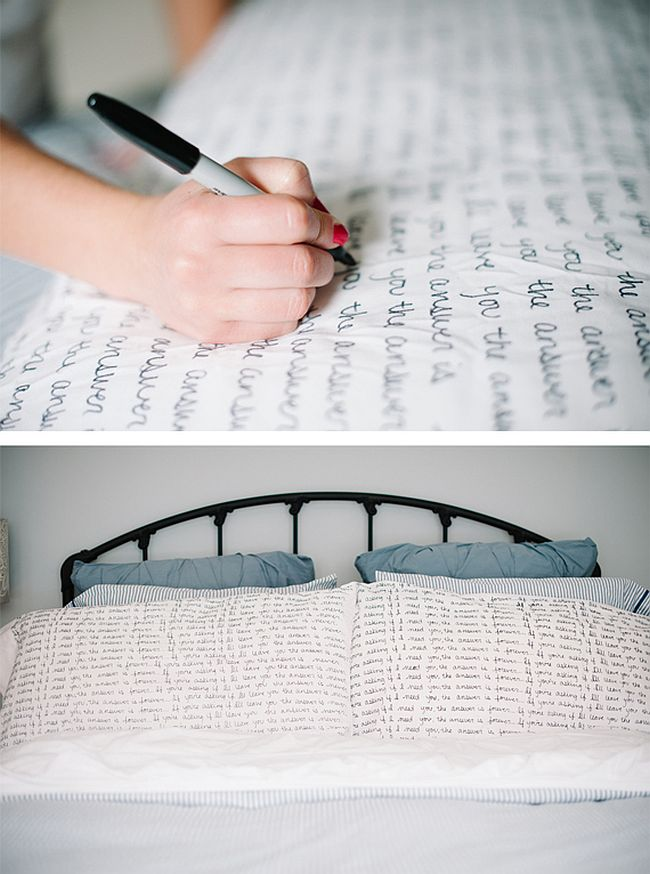 Scripted Pillows