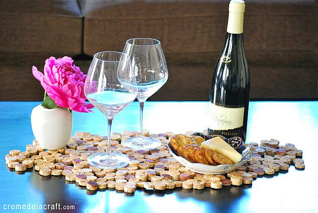 Wine Cork Place Mats