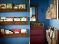 Wood Pallet Bookshelf DIY 200x150 8 Simple DIY Bookshelf Ideas
