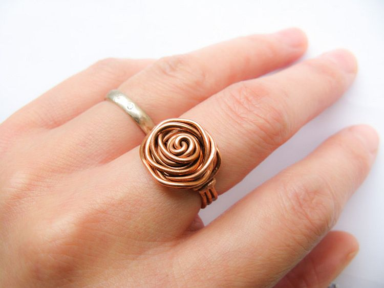 Wrapped Rose Ring