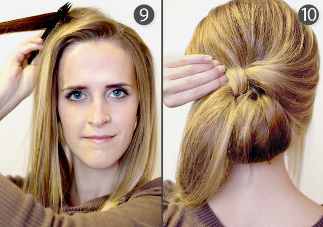 Summer wedding hairstyle