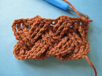 Basket Weave Completed