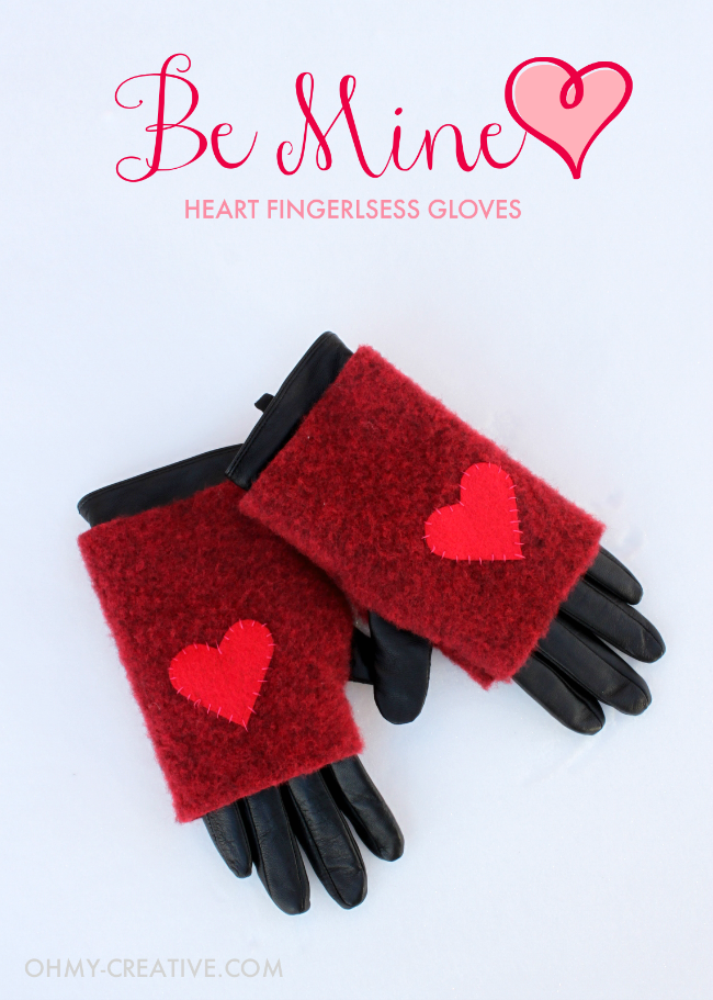 Be Mine Heart Fingerless Gloves 6 Cute Fingerless Gloves Projects We Totally love