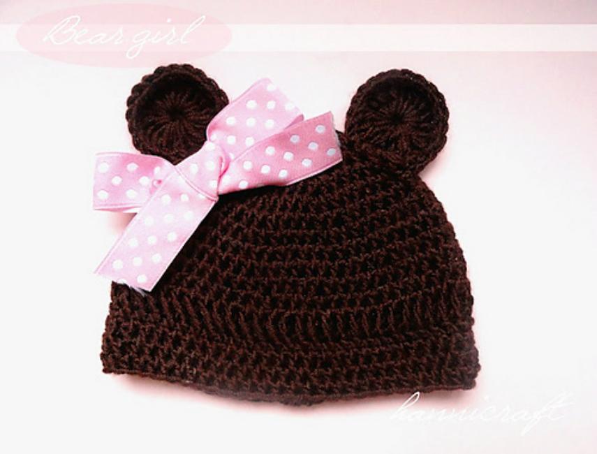 Bear Girl Hat