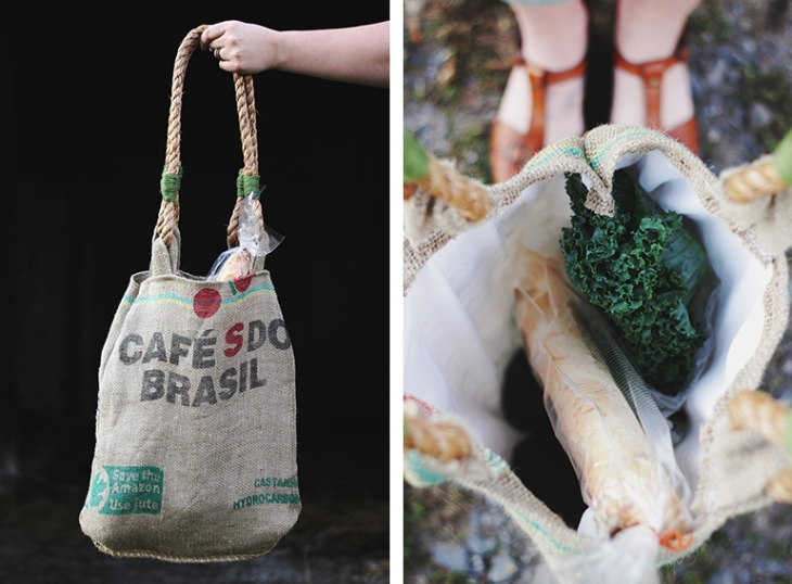 Coffee Sack Tote Bag