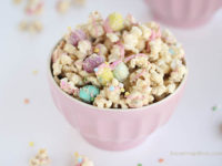 Cookie butter popcorn 200x150 15 Deliciously Fun Snacks for Kids Parties