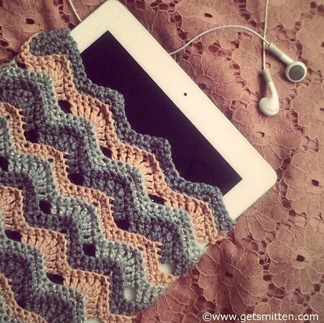 Crochet iPad Cover 7 Free iPad Crochet Sleeve Patterns