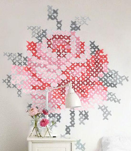 Cross stitch paint pattern