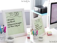 DIY Dry Erase Board 200x150 6 Ways to Update Old Photo Frames