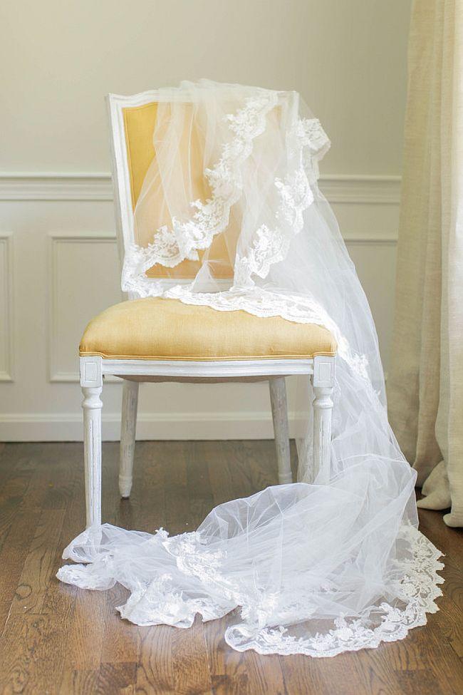 DIY Lace Veil