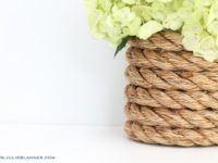 DIY Rope Vase 200x150 10 DIY Vases For Your Beautiful Flowers