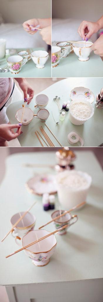 DIY Vintage Candles