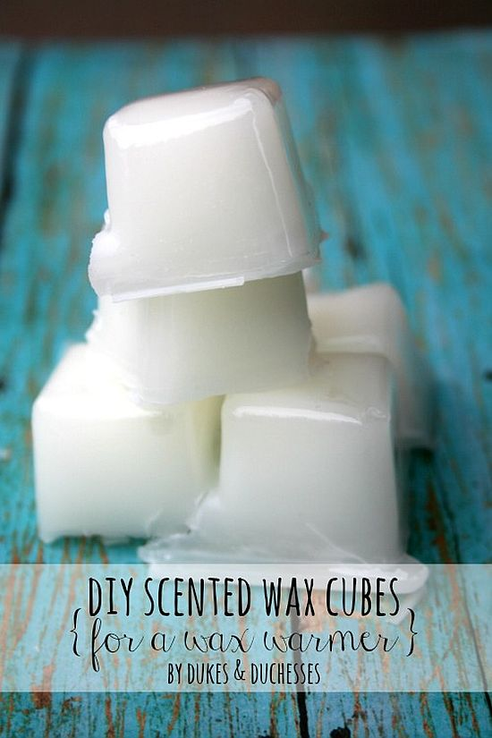 DIY Wax Warmer Cubes