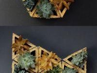 DIY concrete modular wall planter 200x150 The Perfect Indoor Gardening Ideas