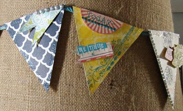 DIY lamp shade tags
