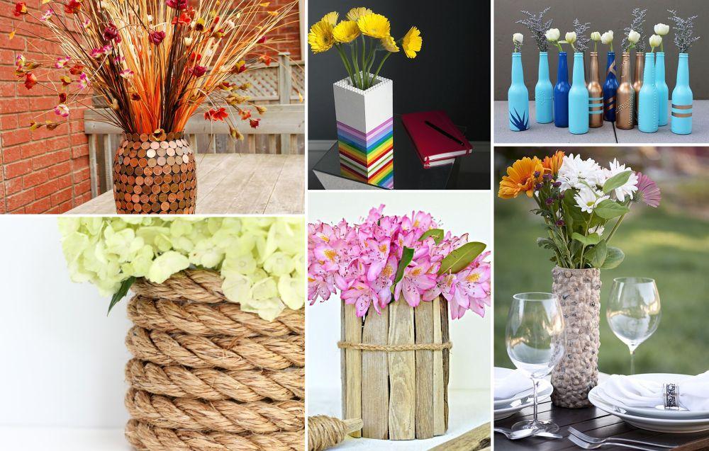 DIYS Flower Vases