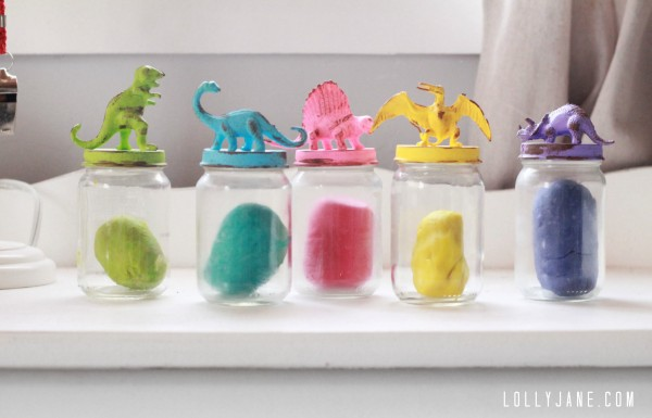 Dinosaur Jar Lids