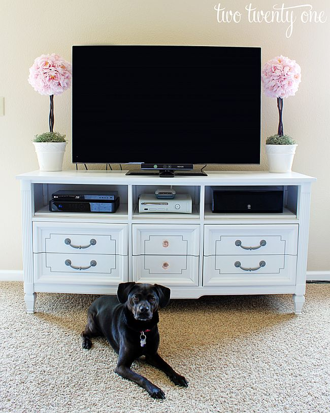 Dresser Tv Stand DIY