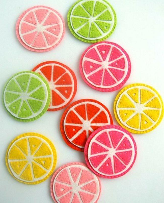 Fab Citrus Coasters
