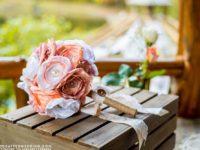 Fabric Flower Bouquet  200x150 Unique DIY Bouquets For Your Wedding