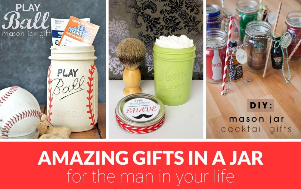 Mason Jar Gifts For Men