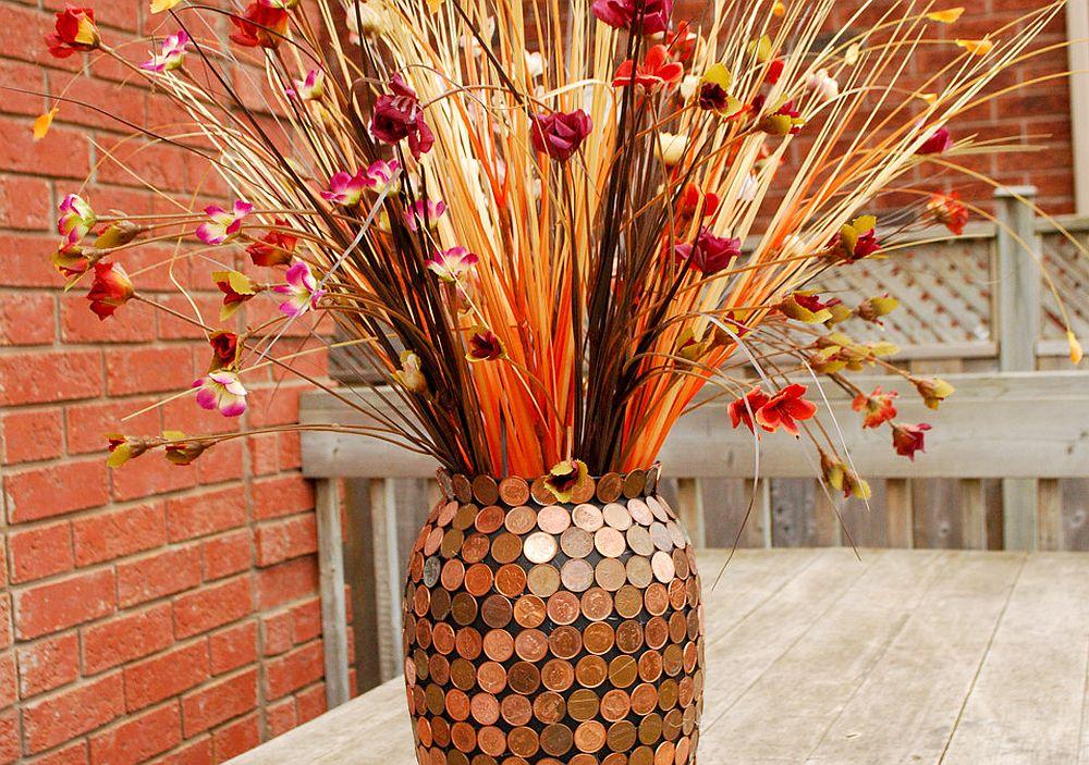 Gorgeous DIY Penny Vase