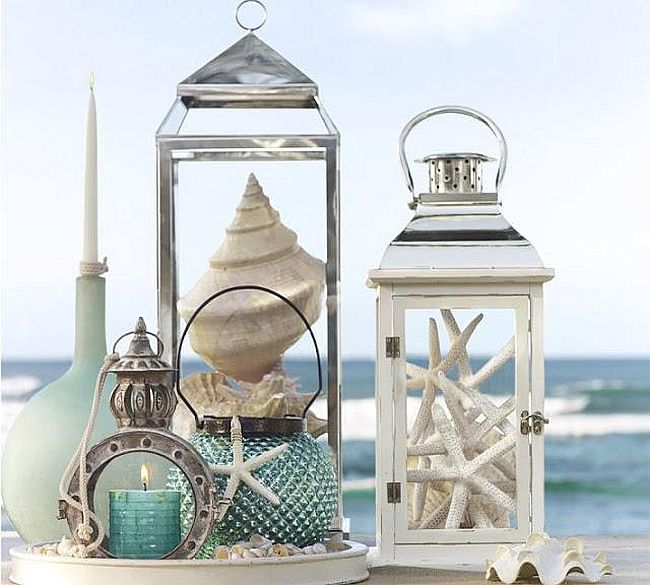 Gorgeous Seaside Lanterns DIY