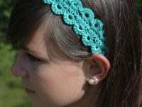 Hairpin Lace Headband 200x150 Update Your Wardrobe with these Pretty Crochet Headbands