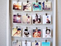 Instagram Photos Display 200x150 6 Ways to Update Old Photo Frames