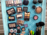 Magnetic makeup board e1452358216861 200x150 Creative Makeup Organization Solutions that will Help you De Clutter