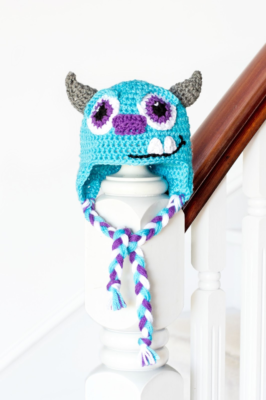 Monsters Inc. Sulley Crochet Hat