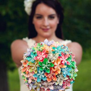 Unique DIY Bouquets For Your Wedding