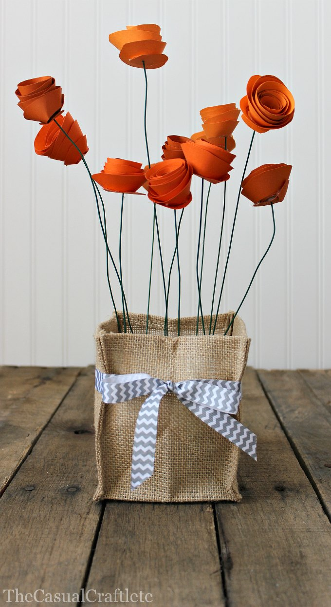 Ever Lasting Charm Diy Paper Flowers For Your Home