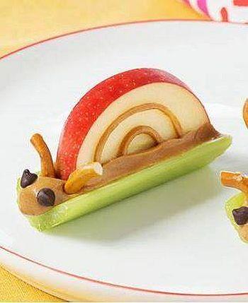 Peanut Butter Snails