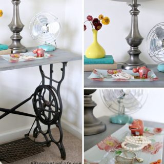 7 Ways to Revamp a Vintage Sewing Table