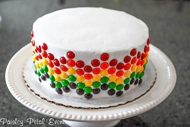 VIEW IN GALLERY Skittle Cake