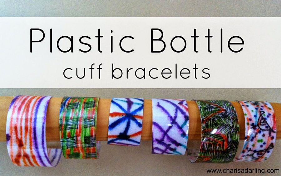 Soda Bottle Bracelet
