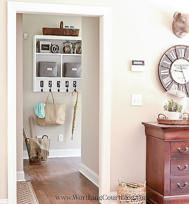 Solve your mudroom problems with a smart DIY solution