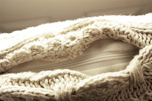 Sweater Knit Pillow